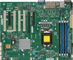 SUPERMICRO MB 1xLGA1151, iC236,DDR4,6xSATA3,PCIe 3.0 (1 x8, 1 x8 (in x16), 1 x4 (in x8)),4xPCI-32,1x M.2 NGFF,IPMI