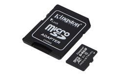 Kingston paměťová karta 64GB Industriální micro SDXC UHS-I CL10 (čtení/zápis: 90/45MB/s) + SD adaptér