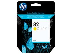 HP No. 82 Yellow Ink Cartridge (69 ml) for HP DSJ 500, 800