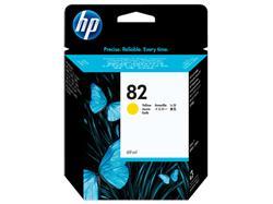 HP No. 82 Yellow Ink Cartridge (69 ml) for HP DSJ 500, 800