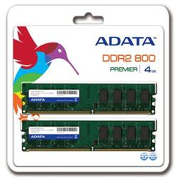 ADATA DDR2 4GB (Kit 2x2GB) DIMM 800MHz CL6 - retail balení