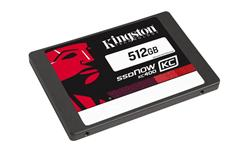 "Kingston SSDNow KC400 SSD 512GB SATA III 2.5"" MLC 7mm (čtení/zápis: 550/530MB/s; 99/86K IOPS)"