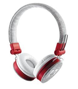 Trust Fyber Headphone - grey/red