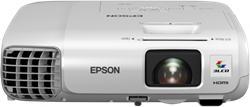Epson projektor EB-965H, 3LCD, XGA, 3500ANSI, 10000:1, USB, HDMI, LAN