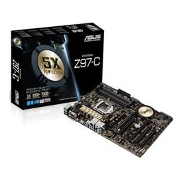 ASUS Z97-C soc.1150 Z97 DDR3 ATX 2xPCIe USB3 SATA6 GL iG D-Sub DVI HDMI