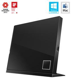 ASUS BLURAY SBC-06D2X-U/BLK/G/AS Combo, External, Retail, čierna