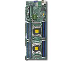 SUPERMICRO MB 2xLGA2011-3, iC612 16x DDR4 ECC,10xSATA3,(PCI-E 3.0/2,2(x16,x8),2x LAN,IPMI