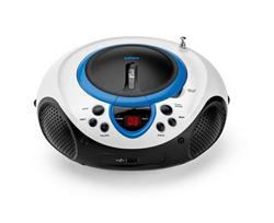 LENCO SCD-38 USB Blue - přenosný CD/MP3 přehrávač
