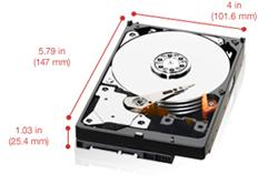 WD RED WD30EFRX 3TB SATA/600 64MB cache,