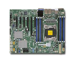 SUPERMICRO MB 1xLGA2011-3, iC612 8x DDR4 ECC, 10xSATA3/8xSAS3,sw LSI 3008, 10 xSATA3,(PCI-E 3.0/4(x8)PCI-E 2.0/1,1(x2,x4),4x LAN,I