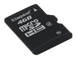 Kingston Micro SDHC karta 4GB Class 4 (rychlost 4MB/s)
