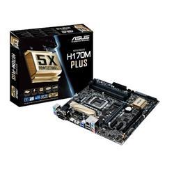 ASUS H170M-PLUS soc.1151 H170 DDR4 mATX 2xPCIe RAID USB3 GL iG D-Sub DVI HDMI