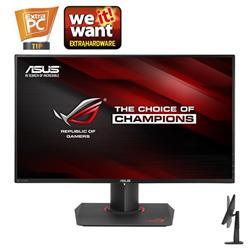 """ASUS PG279Q 27"""" ROG SWIFT IPS 2560x1440 10mil:1 4ms 350cd DP HDMI 2xUSB3.0 Repro čierny"""