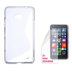 CONNECT IT S-COVER pro Microsoft Lumia 640 LTE/640 Dual SIM ČIRÉ