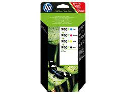 HP 940XL CMYK Ink Cartridge Combo Pack
