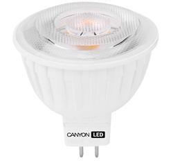 Canyon LED COB žárovka, GU5.3, bodová MR16, 4.8W, 300 lm, neutrální bílá 4000K, 12V, 60 °, Ra> 80, 50.000 hod