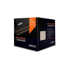 AMD FX-8370 VISHERA (8core, 4.0GHz, 16MB, socket AM3+, 125W ) Box with AMD Wraith cooler