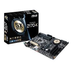 ASUS Z170-K soc.1151 Z170 DDR4 ATX 2xPCIe USB3 RAID GL iG D-Sub DVI HDMI