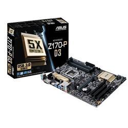 ASUS Z170-P soc.1151 Z170 DDR4 ATX 2xPCIe USB3 RAID GL iG DVI HDMI