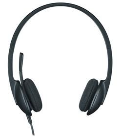 Logitech® Corded USB Headset H340 - EMEA - BLACK