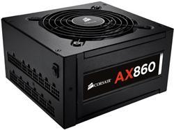 Corsair zdroj 860W AX Series AX860, 80 PLUS Platinum, 120mm ventilátor
