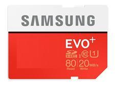 Samsung EVO Plus Micro SDHC karta 64GB Class10