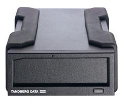 Tandberg RDX External drive, black, USB 3+ interface
