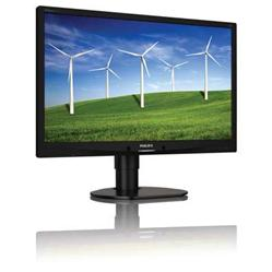 "Philips 241B4LPYCB/00 24"" LED 1920x1080 20 000 000:1 5ms 250cd DP DVI USB repro PIVOT černý"