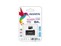 ADATA 64GB Micro SD SDXC UHS-I Class 10 s OTG micro čtečkou, Premier