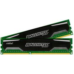 Crucial DDR3 16GB (Kit 2x8GB) Ballistix Sport DIMM 1600MHz CL9 černá