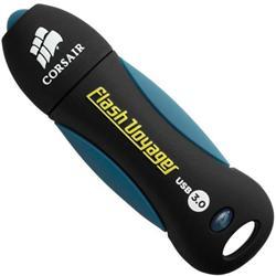 Corsair flash disk 32GB Voyager USB 3.0 (čtení/zápis: 190/60MB/s) modro-černý