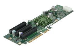 SUPERMICRO Riser card active 2U riser 3xPCI-E x8 (pro X8DTN+ 2U chassí CSE-825 a CSE-826)