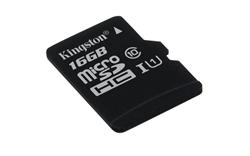 Kingston Micro SDHC karta 16GB Class 10 UHS-I (čtení/zápis: 45/10MB/s)
