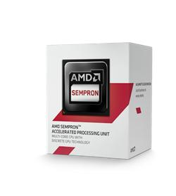 AMD Sempron X4 3850 Kabini (4core,1.3GHz,2MB,25W,AM1) box, Radeon HD 8280
