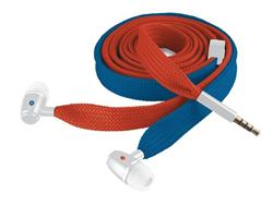 Trust Lace In-ear Headphone - red & blue