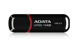 ADATA flash disk 64GB UV150 USB 3.0 černý