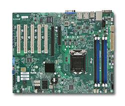SUPERMICRO MB 1xLGA1150, iC222,DDR3,2xSATA3,4xSATA2,(1x PCI-E3.0 x16,1x PCI-E2.0 x4, 5x PCI), IPMI