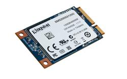 Kingston SSDNow mS200 SSD 60GB SATA III mSATA MLC (čtení/zápis: 550/520MB/s; 86/79K IOPS)