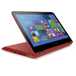 HP Pavilion x360 13-s008nc, Core i5-5200U dual, 13.3 FHD, UMA, 8GB, 500GB + 8GB NAND, W8.1ML64, Touch/Sunset red - IMR