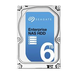 Seagate Enterprise NAS HDD - 6TB/7200rpm/SATA-6G/128MB
