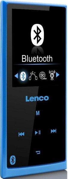LENCO Xemio 760 - blue - MP3/MP4 přehrávač s bluetooth, 8GB + microSD slot
