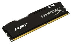 Kingston HyperX FURY DDR4 4GB DIMM 2133MHz CL14 černá