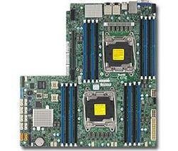 SUPERMICRO MB 2xLGA2011-3, iC612 16x DDR4 ECC,10xSATA3,(PCI-E 3.0 x32),2x10GbE LAN, 2x PCI-E 3.0 NVMe x4,IPMI
