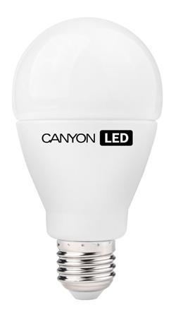 Canyon LED COB žárovka, E27, kulatá, 15W, ekv. 100W, 1.512 lm, teplá bílá 2700K, 220-240, 200 °, Ra> 80, 50.000 hod