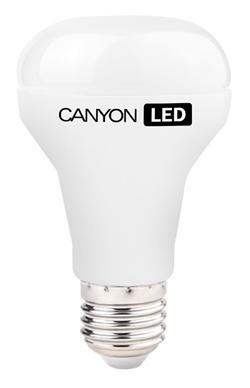 Canyon LED COB žárovka, E27, reflektor mléčná 6W, 470 lm, teplá bílá 2700K, 220-240, 120 °, Ra> 80, 50.000 hod
