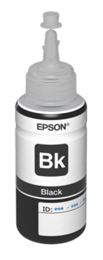 Epson atrament L100/L200/L210/L355/L550 Black ink container 70ml