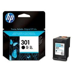 HP 301 Černá inkoustová kazeta