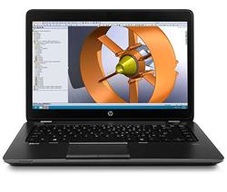"HP ZBook 14, i5-4300U, 14"" HD+, M4100/1GB, 8GB, 500GB, WL, BT, Fpr, W7Pro"