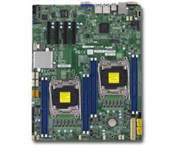 SUPERMICRO MB 2xLGA2011-3, iC612 8x DDR4 ECC,10xSATA3,(PCI-E 3.0 4x (x8),2x LAN,IPMI