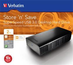 "Verbatim 3,5"" Externý HDD 2000GB USB 3.0, Store 'n' Save"